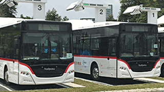 Super Quick Charge-Electric Buses Enter Service in Malaysia