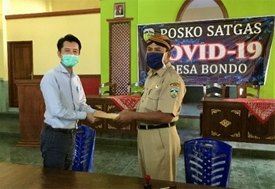 Indonesia; In-kind donation to 12 villages located in Tanjung Jati and Cirebon